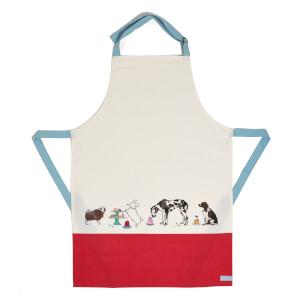 Joules Cotton Apron - Par-Tea Dogs