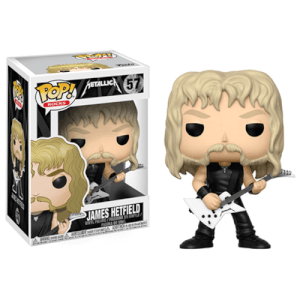 Pop! Rocks: Metallica - James Hetfield Figura Pop! Vinyl