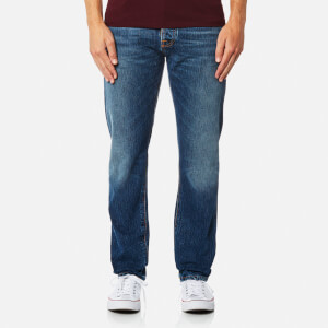 Nudie Jeans Men's Fearless Freddie Straight Leg Jeans - Shaded Rain