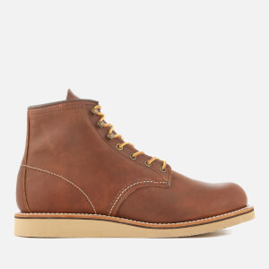 Red Wing Men's Rover 6 Inch Leather Lace Up Boots - Copper