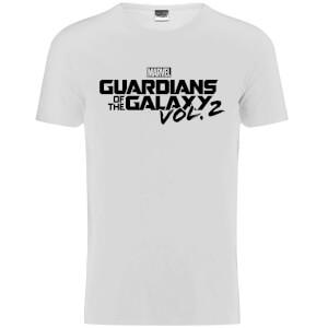 T-Shirt Marvel Logo Gardiens de la Galaxy Vol.2 - Noir