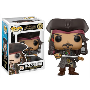 Pirates of the Caribbean Jack Sparrow Funko Pop! Figuur