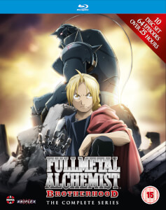 Fullmetal Alchemist Brotherhood - Complete Series Box Set (Episodes 1-64)