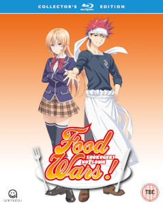 Food Wars! Season 1 (Episodes 1-24) - Blu-ray/DVD Collector's Edition Combo