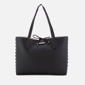 Guess Women's Bobbi Inside Out Tote Bag - Black Stone