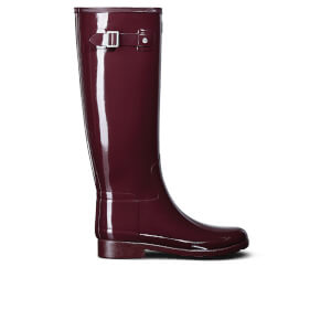 Hunter Women's Original Refined Gloss Wellies - Dulse