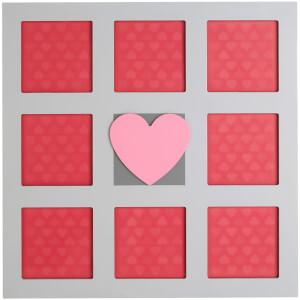 Premier Housewares Kids Heart Wall Photo Frame - Multi