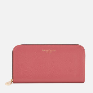 Aspinal of London Women's Continental Clutch Wallet - Blusher
