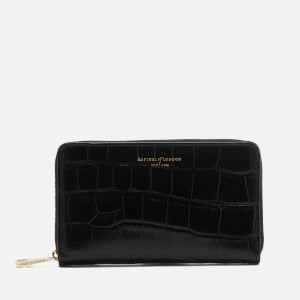 b300d355ab21d Aspinal of London Women s Continental Midi Purse - Black