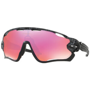 Oakley Jawbreaker Polarised Sunglasses - Carbon Fiber/Prizm Trail