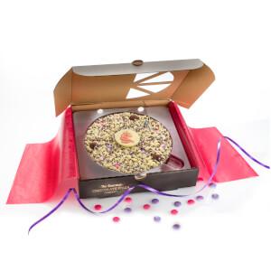 The Gourmet Chocolate Pizza Magical Unicorn 7 Inch Pizza