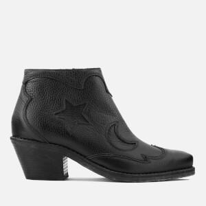 McQ Alexander McQueen Women's Solstice Zip Ankle Boots - Black