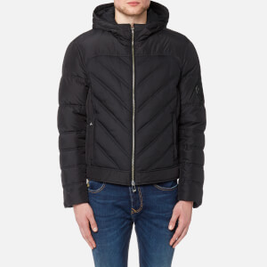 Versace Collection Men's Down Jacket Blouson - Nero
