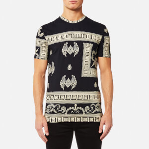 Versace Collection Men's T-Shirt - Beige/Stampa