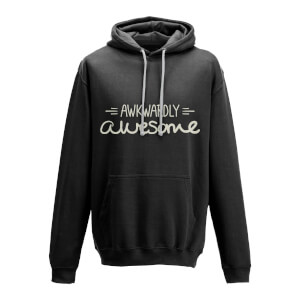Awkwardly Awesome Black Hoody