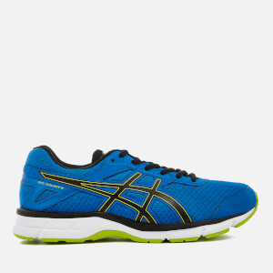 Asics Running Men's Gel Galaxy 9 Trainers - Directoire Blue/Energy Green