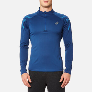 Asics Men's Asics 1/2 Zip Top - Limoges Heather