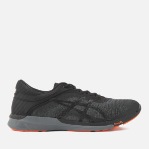Asics Running Men's Fuze X Rush Trainers - Black/Carbon/Cherry Tomato