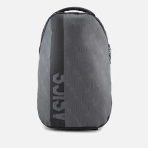 Asics Men's Training Large Backpack - Keyline Hex Black