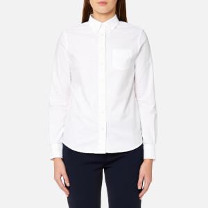 GANT Women's Perfect Oxford Shirt - White