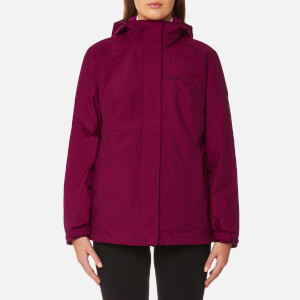 Jack Wolfskin Women's Iceland 3-in-1 Jacket - Dark Ruby