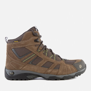 Jack Wolfskin Men's Vojo Hike Mid Texapore Boots - Flashing Green