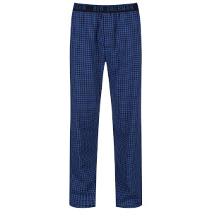 Ben Sherman Men's Ben Check Lounge Pants - Navy
