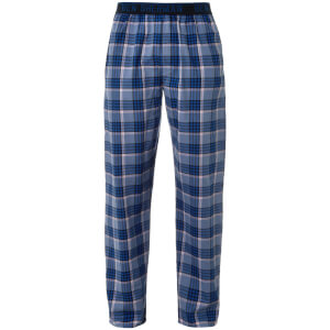Ben Sherman Men's Max Check Lounge Pants - Blue
