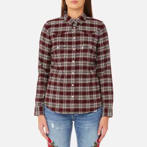Levi's Women's Modern Western Shirt - Cottonwood Merlot