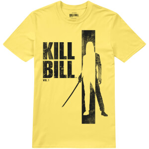 T-Shirt Homme Kill Bill Silhouette - Jaune