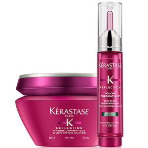 Kérastase Reflection Maschera per capelli sottili e Cool Brown Touche Chromatique Duo