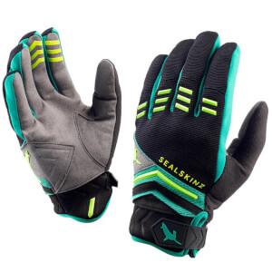 Sealskinz Dragon Eye MTB Gloves - Black/Green