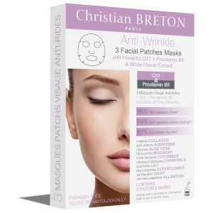 Christian BRETON Anti-Wrinkle Facial Mask 3 x 20ml