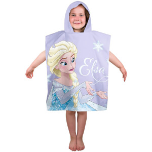 Disney Frozen Lights Poncho Towel