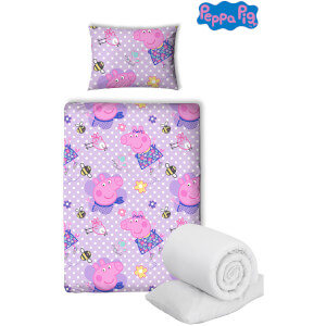 Peppa Pig Happy Bed Bundle - Junior