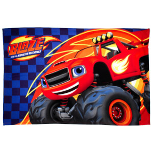 Nickelodeon Blaze Zoom Fleece Blanket