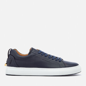 Buscemi Men's Lyndon Low Top Trainers - Ocean