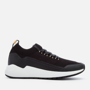 Buscemi Men's Run 1 Low Top Trainers - Black/Black