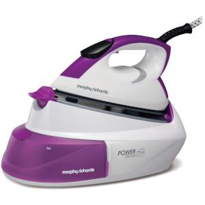 Morphy Richards 333001 Power Steam Gen Intell Temp Iron - Purple