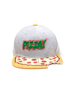 Teenage Mutant Ninja Turtle Pizza Snapback with Cut Out