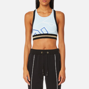 P.E Nation Women's The Volley Crop Top - Pale Blue