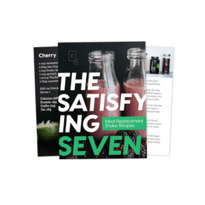 The Satisfying 7 - Meal Replacement Shake Recipes eBook
