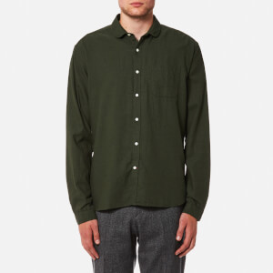 Oliver Spencer Men's Eton Collar Shirt - Cooper Green