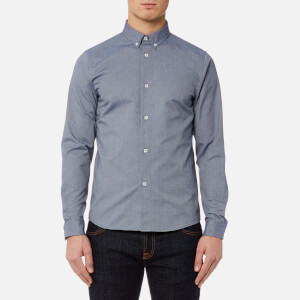 A.P.C. Men's Chemise Button Down Shirt - Dark Navy