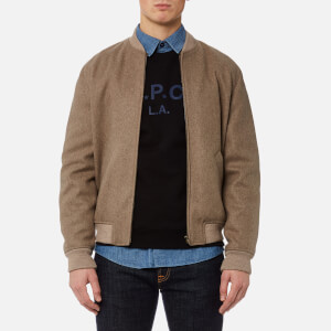 A.P.C. Men's Blouson Gaston Jacket - Beige Chine