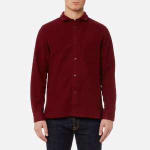 A.P.C. Men's Surchemise Baltimore Shirt - Rouge Fonce