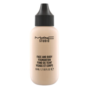Base de maquillaje rostro y cuerpo MAC Studio Face and Body Foundation (Varios tonos)