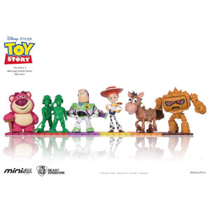 Beast Kingdom Disney Toy Story Mini Egg Attack 6 Pack 9cm Figure