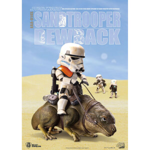 Beast Kingdom Star Wars: Episode IV Egg Attack Dewback and Sandtrooper 9/15cm Action Figures