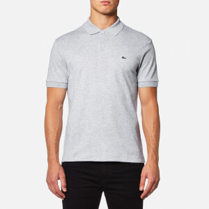 Lacoste Men's Polo Shirt - Silver Chine